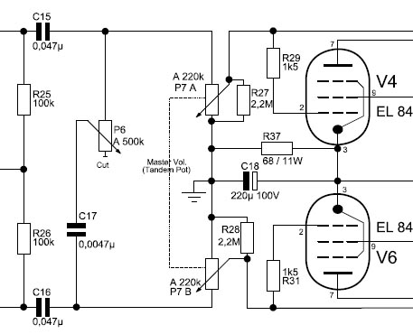 Master Volume – DIY Amplifier: AC30 on