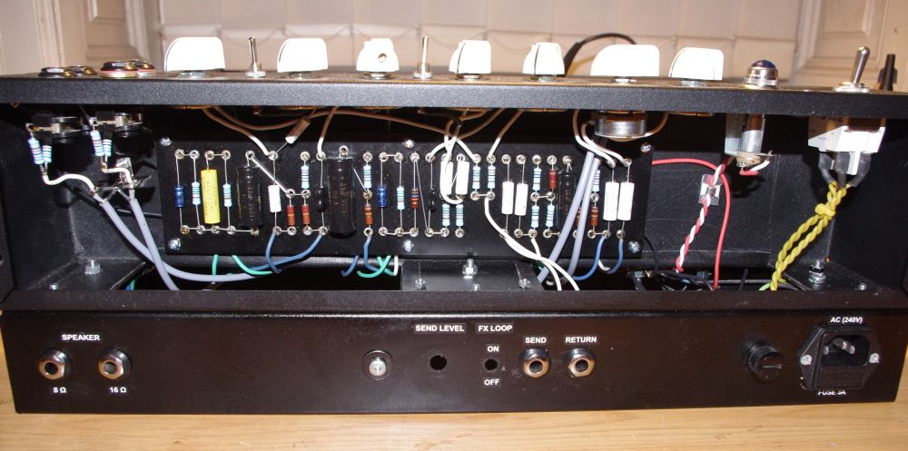 Verdrahtung – DIY Amplifier: AC30